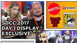 WWE SDCC 2017 - DAY 1 Figure Display! - NEW Wrestling Figures San Diego Comic Con
