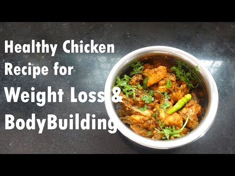 Easy Chicken Recipe for Weight Loss & Bodybuilders [Healthy Version]