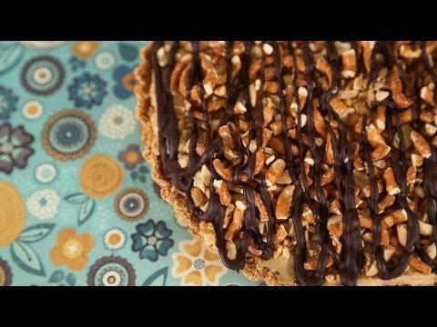 Chocolate Pretzel Peanut Butter Pie Recipe