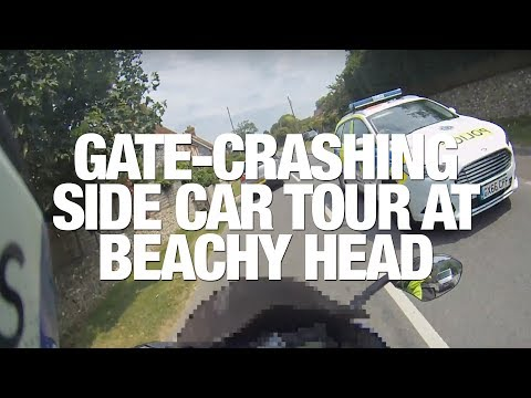 ★ GATE CRASHING BELGIUM SIDECAR MOTORCYCLE TOUR ★ FROM BEACHY HEAD SUSSEX