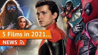 Will the 5 MCU films in 2021 Hurt Each Other or Not