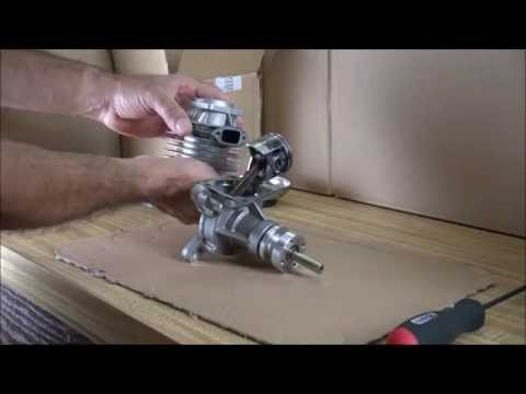 DLE 55 RC Gas Engine Repair. Part 1 Disassembly