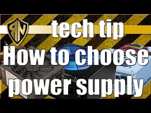 How to choose PC power supply