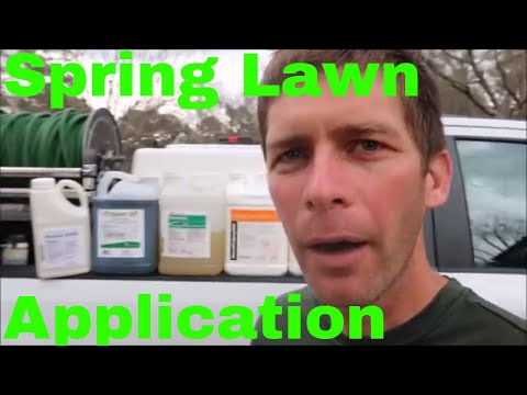 Lawn Care Application Program and Tips for Spring
