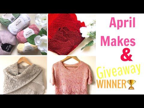 April MAKES & giveaway 🎊WINNER 🎊
