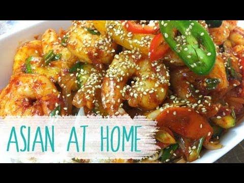 Spicy Stir Fry Shrimp Recipe