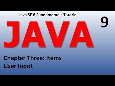 Java User Input Epi 9