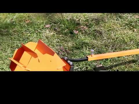 Rotating hoe cultivator