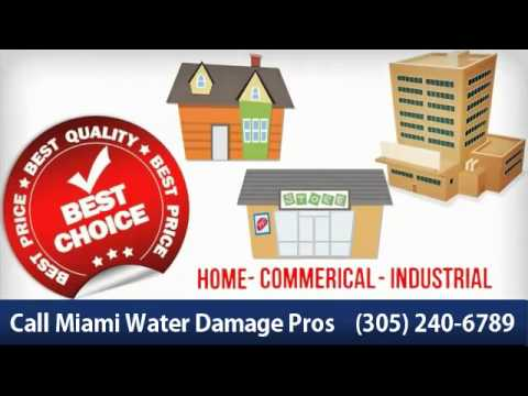 Miami Water Damage - (305) 240-6789 Best Choice!