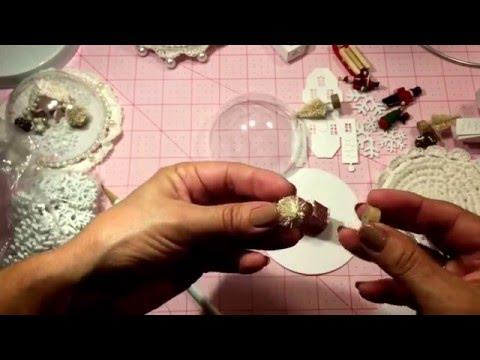 Snow Globe Tutorial (waterless)