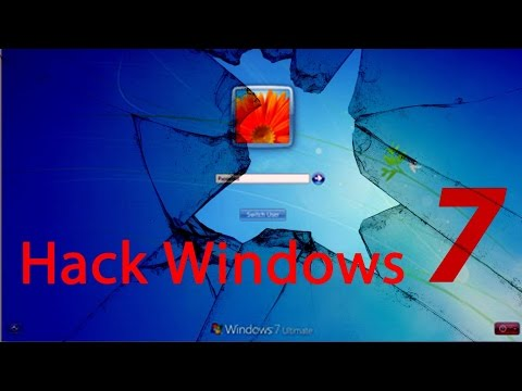 Bypass login Windows 7 without programs