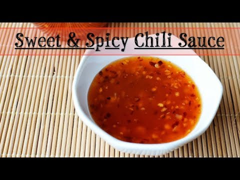 Sweet & Spicy Chili Sauce (Thai Style)