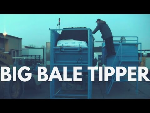 Mushroom Machinery - Quick to Use Big Bale Tipper
