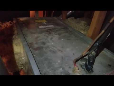 Evaporator coil housing - how do I get inside?!