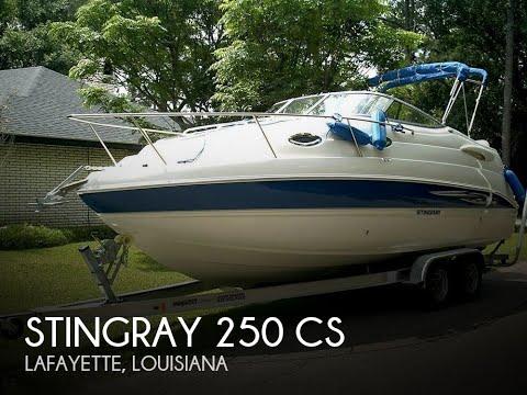 Used 2007 Stingray 250 CS for sale in Lafayette, Louisiana