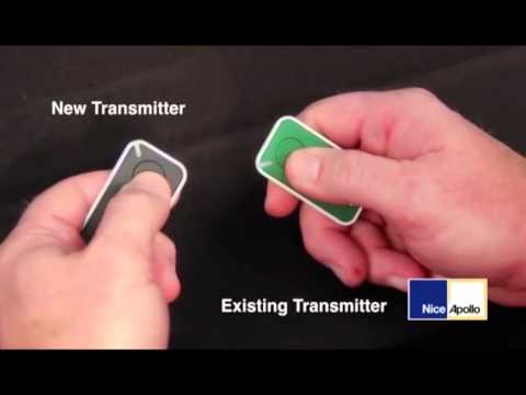 How To Program Apollo Nice Inti Transmitters With Each Other