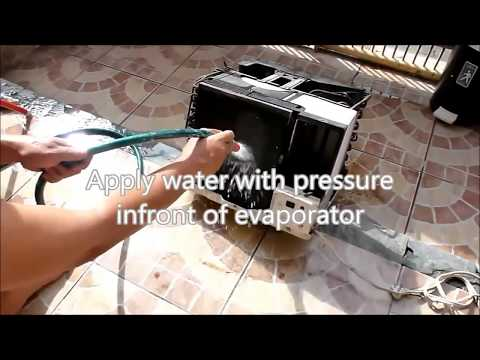 How to clean Window type room air conditioner