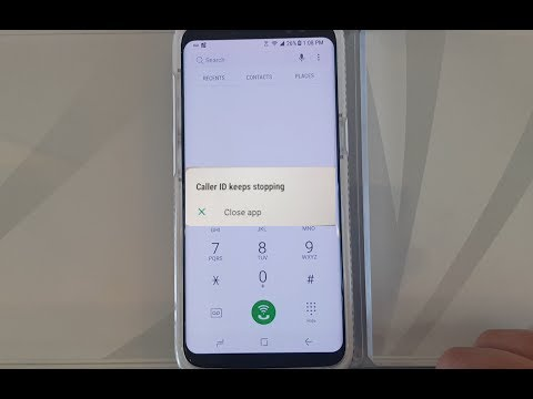 Caller ID Keeps Stopping [FIX & Solution] | SPRINT Samsung Galaxy