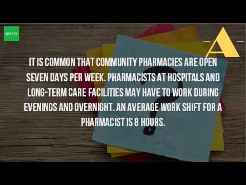 How Many Hours Does A Pharmacist Work In A Day?