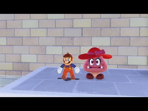 How to Stand Next to Goombette as Mario - Super Mario Odyssey