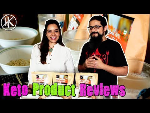 Keto Product Review - Growfit Coconut Cereal & Meal Replacement Smoothies