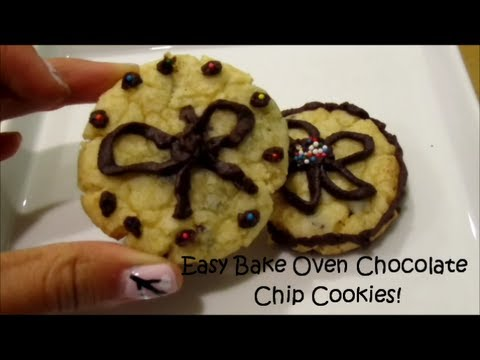 Easy Bake Oven Chocolate Chip Cookies!