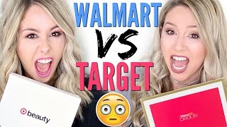 UNBOXING | Walmart vs Target Beauty Box