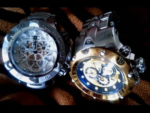 Invicta Watches : Invicta Reserve Venom II VS Subaqua Noma V Watch
