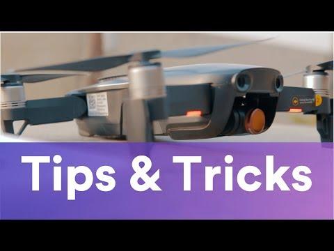 9 TIPS & TRICKS of DJI MAVIC AIR!