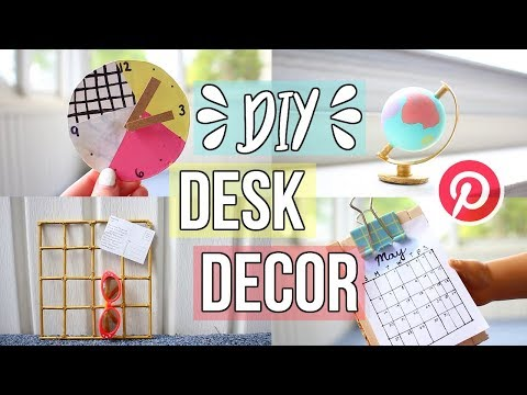 DIY AG DESK DECOR! | American Girl Doll Desk Decor Pinterest Inspired!