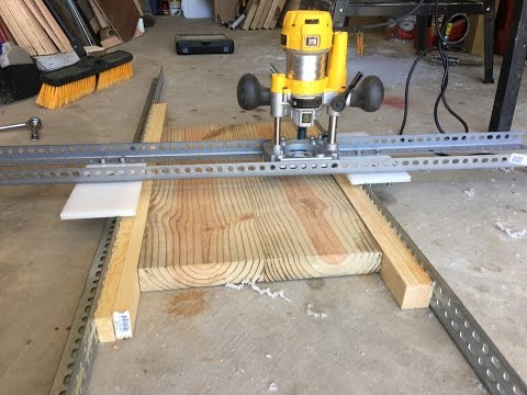 Let's Make an Easy and Adjustable DIY Router-Planer   How To