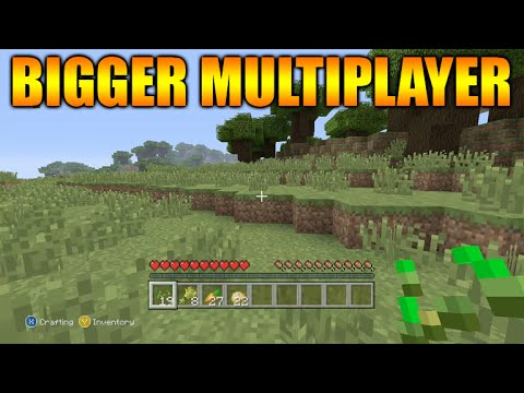 ★Minecraft Xbox One + PS4 - Bigger Multiplayer Experience 16 Players Per Game★