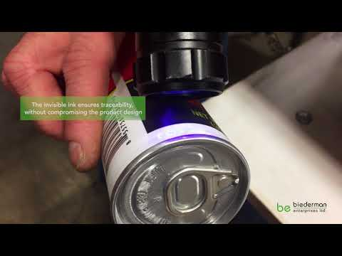 Biederman Invisible Ink Black Light Traceability