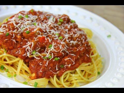 Italian Meat Sauce Recipe (Pasta Sauce | Sunday Sauce | Red Sauce) - Chris De La Rosa