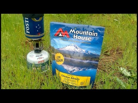 Healthy Backpacking Food - New Mountain House Meal Review