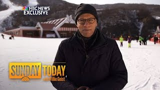 Lester Holt Reports From North Korea On Rogue Nation's Olympic Ambitions | Sunday TODAY