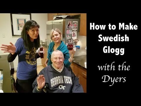 How to Make Old Fashioned Swedish Glogg with Ella & Jody Dyer