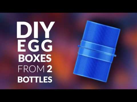 DIY How to make little box from 2 bottle's cap