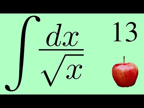 Calculus 2: The Integral of 1/√x