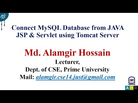 How to connect mysql database from java jsp and servlet using tomcat server
