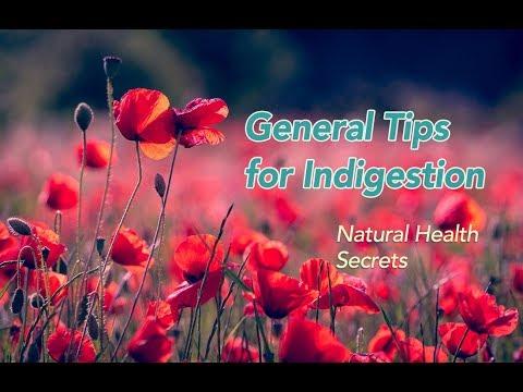 [Natural Health Secrets] Episode 17:  General Tips for Indigestion