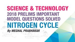 NITROGEN CYCLE | PRELIMS IMPORTANT MODEL QUESTION SOLVED | GENERAL SCIENCE | NEO IAS