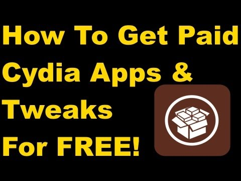 How to Get Paid Cydia Apps/Tweaks for FREE! 2013 Updated!