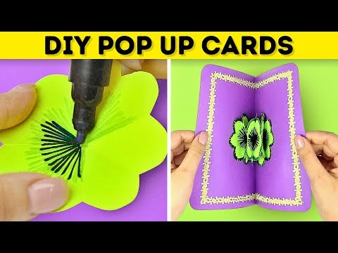 18 SIMPLE DIY POP UP CARDS