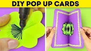 18 SIMPLE DIY POP UP CARDS