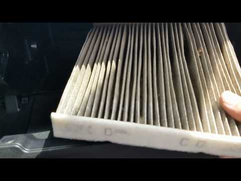 2015 Toyota Camry Cabin Air Filter Replacement How to