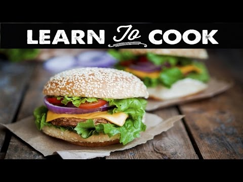 How to Cook a Turkey Burger