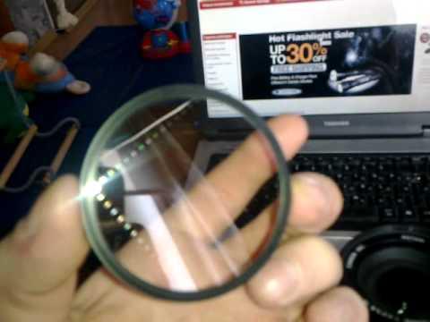 67mm 4 Point 4PT Star Camera Lens Filter.mp4