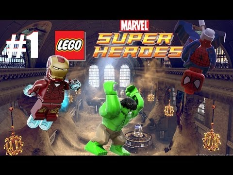 LEGO Marvel Super Heroes: Universe in Peril - Part 1 Sand Central Station (3DS/Vita)