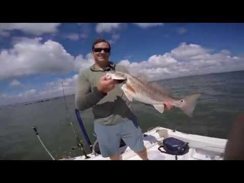 Catching Redfish at the Charleston Harbor Jetties